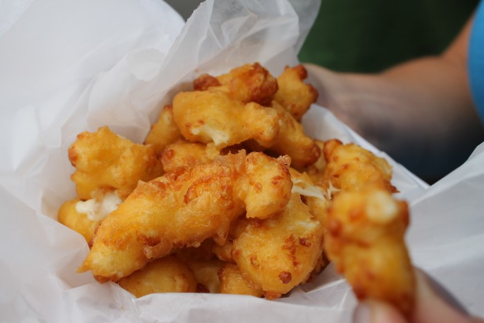 3. We have cheese in all forms. Including fried. Deal with it.