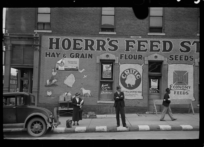 7. A Feed Store