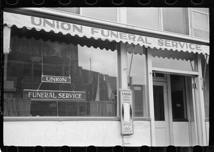 9. A Funeral Parlor