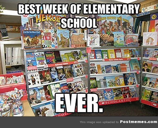 6. Scholastic Book Drive