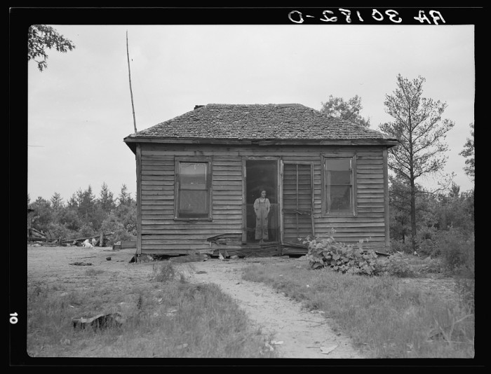 5. This was the home of the Earl Taylor family near Black River Falls, Wisconsin, 1937.