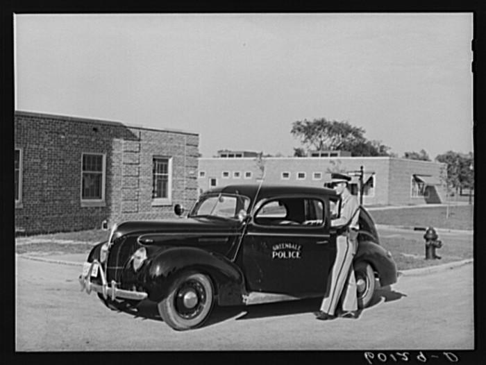 8. A Police Station