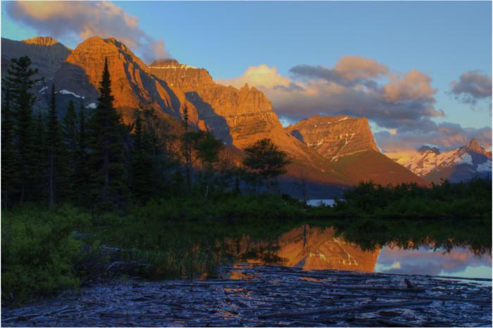 """13. """"Sunrise over Glacier National Park"""""""