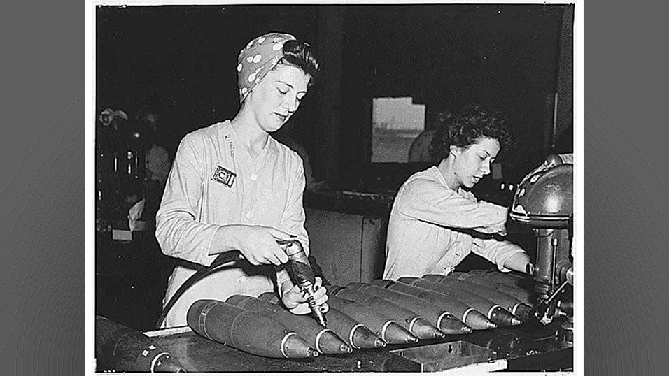 womens labor during wwii During world war ii the women's bureau of the department of labor asked women looked forward to continued employment after the war in the same areas.