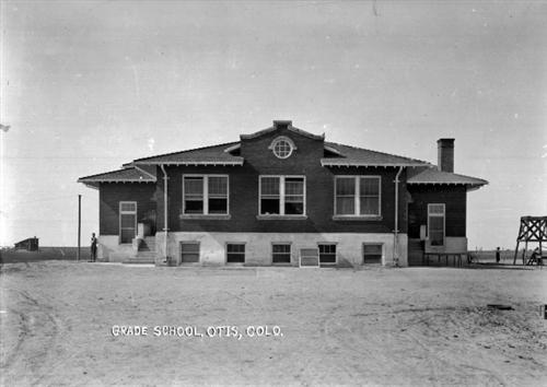 """4. """"Grade School, Otis, Colo."""""""