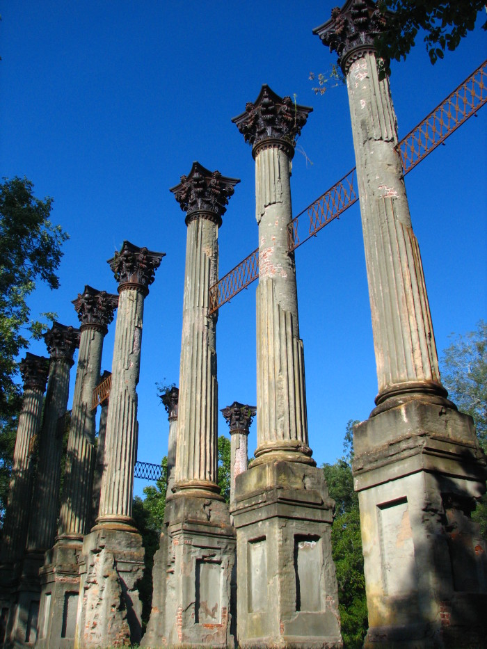 1. The Windsor Ruins, Port Gibson