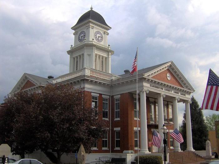 1) The Jonesborough Courthouse