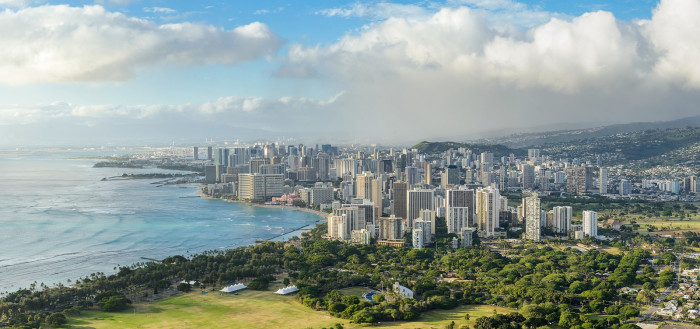 And Honolulu from the same spot now - it's crazy how much development has occurred!