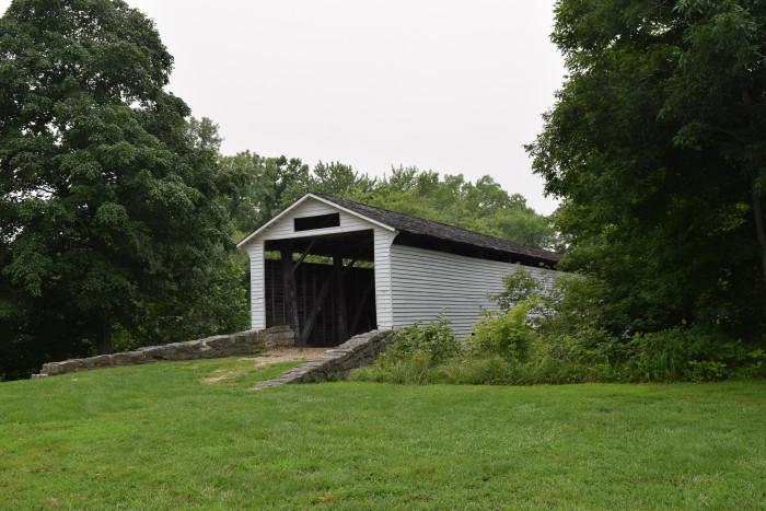 1.Union Covered Bridge, Monroe County