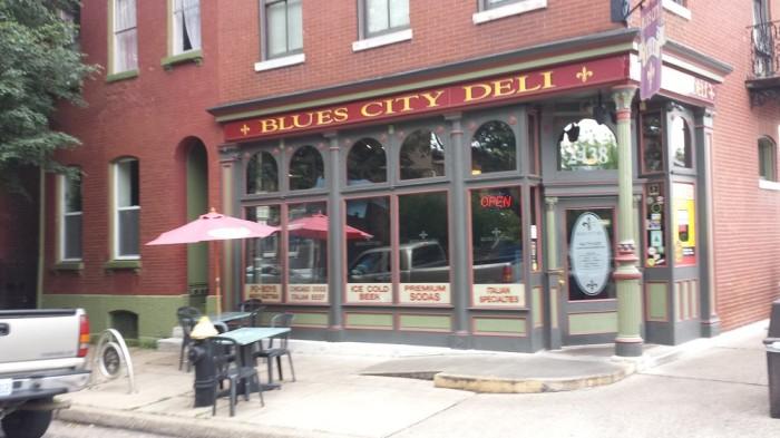 1.Blues City Deli, St. Louis