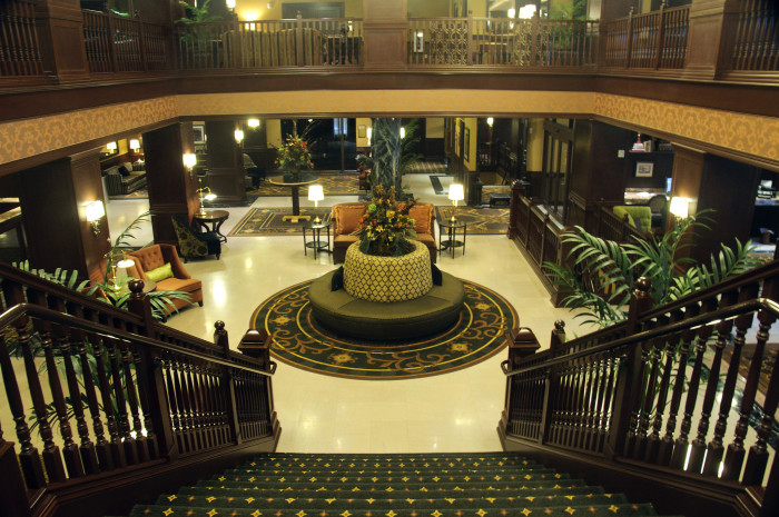 6. Check in for a romantic weekend at one of Iowa's many beautiful hotels.
