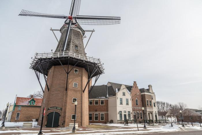 9. The biggest Dutch windmill in the U.S., Pella