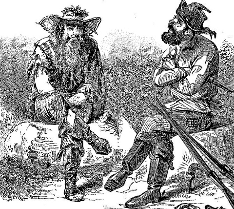 10. The notorious Mississippi outlaws, the Harpe Brothers, were definitely the most threatening of all criminals that wandered the Trace looking for victims.