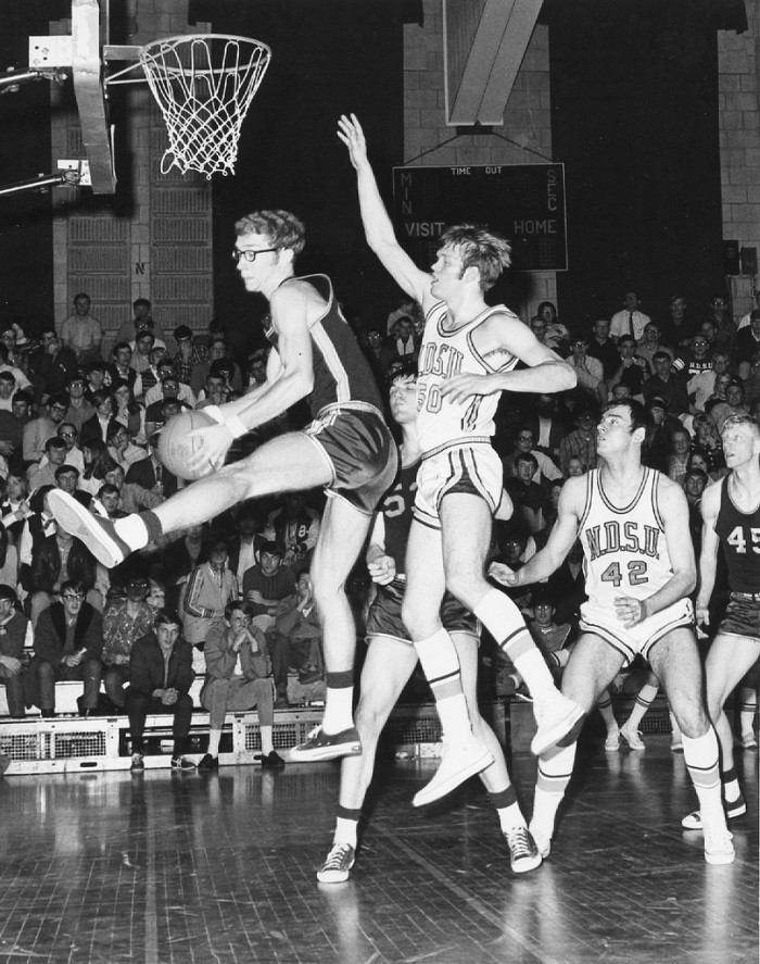 9. In 1970, the UNI basketball team loses to the North Dakota State University Bisons with a score of 81 to 72.