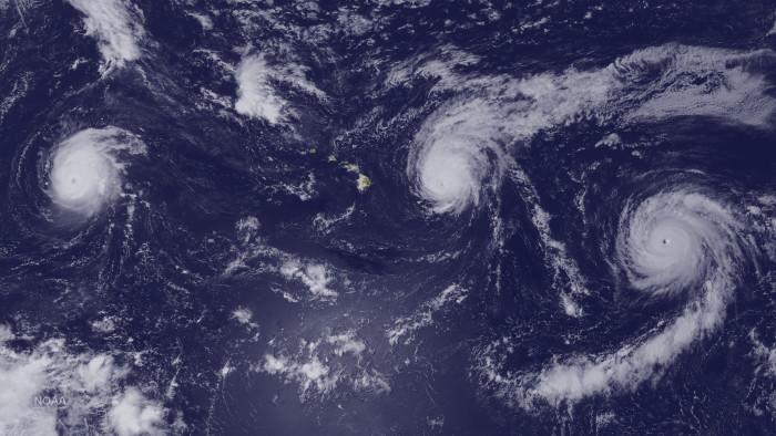 10. All-powerful hurricanes.