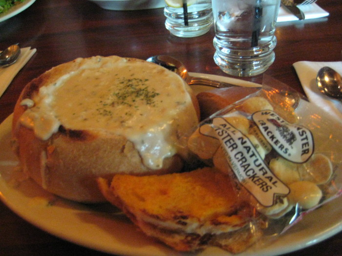 10.	On Sundays between 11:50 a.m. and 12:48 p.m., it is illegal to eat clam chowder.