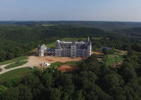 12 man made wonders in missouri for Pensmore mansion