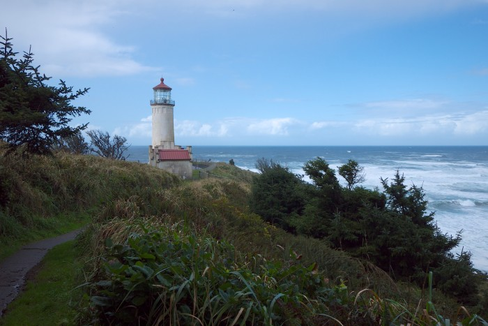 9. You can find this active lighthouse overlooking the Pacific Ocean near Ilwaco.