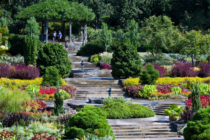 13. Sarah P. Duke Gardens in Durham are perfect for a beautiful day in a beautiful place. Picnic, a stroll, even just enjoying each other's company.