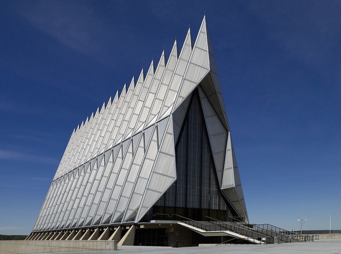 9. United States Air Force Academy Cadet Chapel (Colorado Springs)