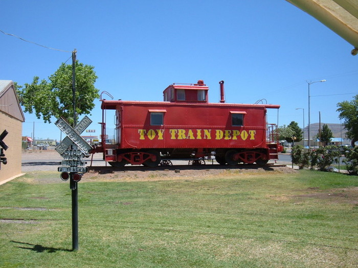 3. Toy Train Museum, Alamogordo