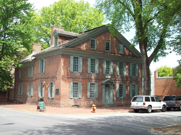B. Amstel House, Old New Castle