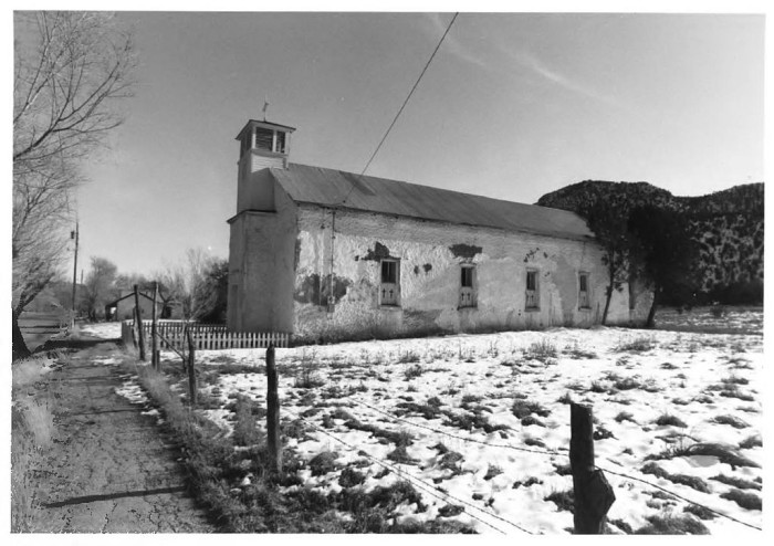 9. This is what the San Juan Church, built in 1887,  looked like during the 1970s.