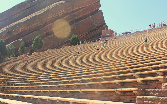 6. Red Rocks Amphitheatre (Morrison)