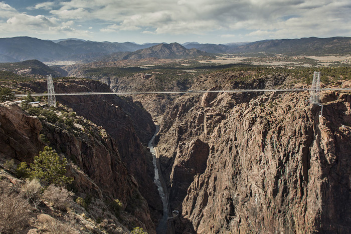 5. Royal Gorge Bridge (Canon City)