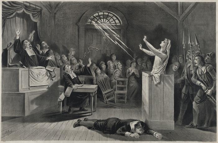 1. When witchcraft trials began in Salem in 1692.