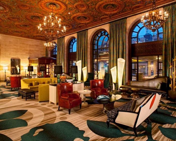 4. Hotel du Pont, Wilmington