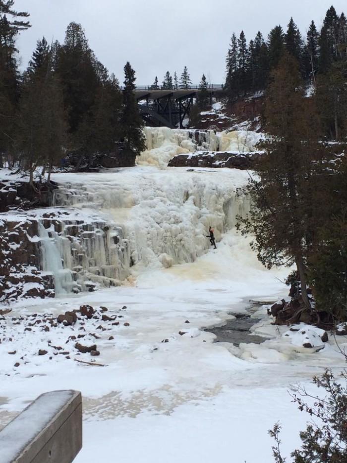 1. Gooseberry Falls (State Park)