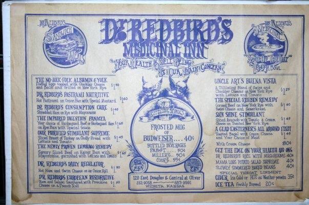 6. ...Dr. Redbird's Medicinal Inn...