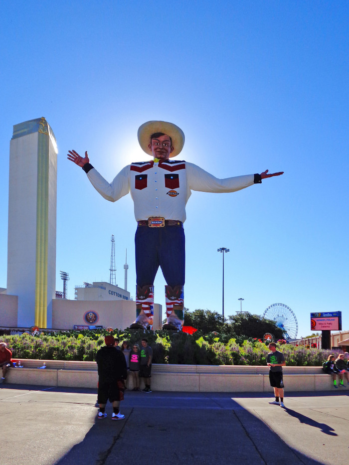 8. Because no other state fair can compare to one with its own mascot standing so tall and proud to represent our home.
