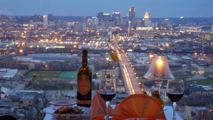 14. Dine with a view.