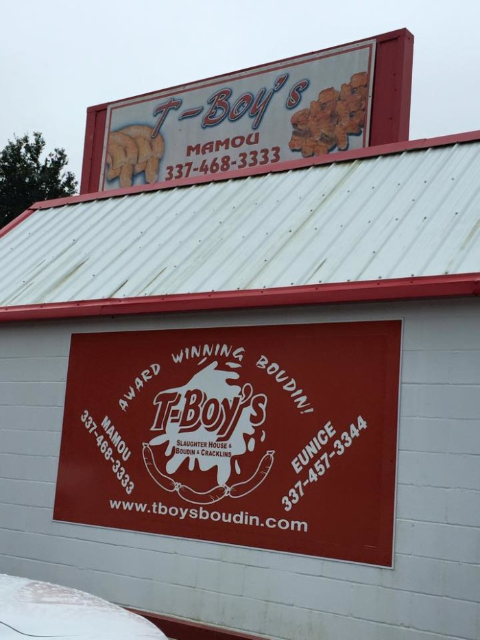 11. T-Boy's Slaughterhouse, Mamou, LA