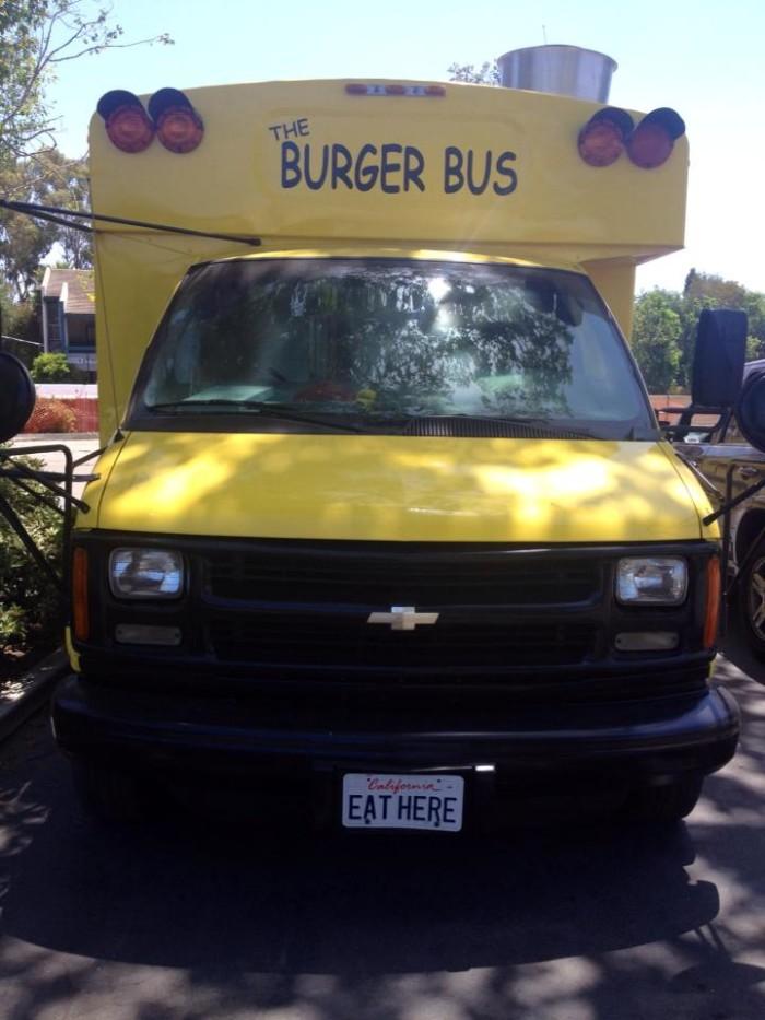 8.  The Burger Bus, Santa Barbara