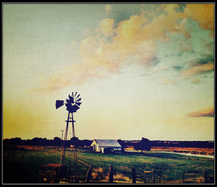 7. Life on the farm. It doesn't get much simpler than that. (Denton)