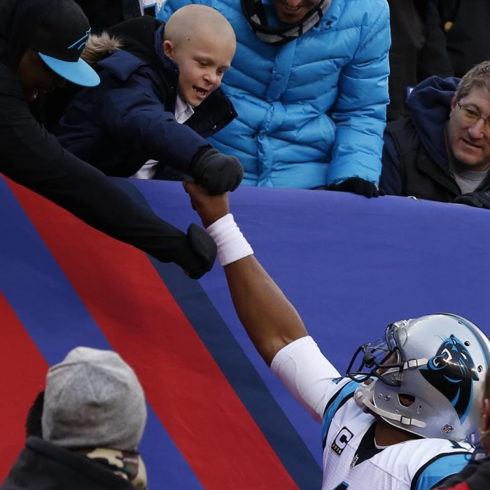1. The Carolina Panthers are continuously giving back to the community.