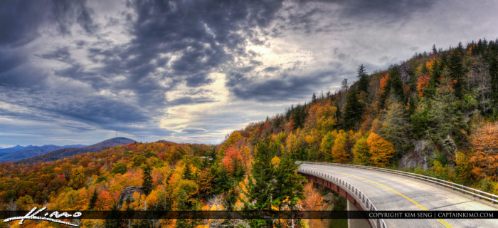7. Take a Sunday drive along the Blue Ridge Parkway. Find a great overlook for a beautiful sunset view.
