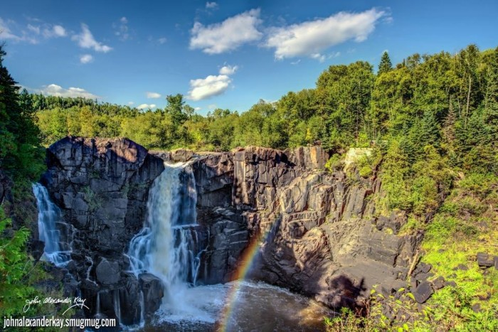 7. The High Falls (Pigeon River - Grand Portage State Park)