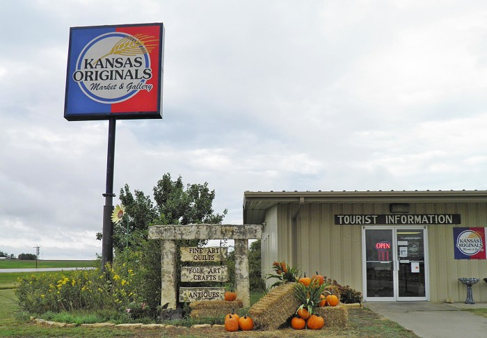 14. With so many shops and roadside attractions, it takes us forever to get from Point A to Point B.