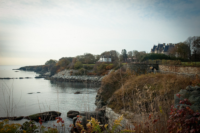 3. Newport Cliff Walk: More than just the mansions make this seaside stroll amazing.