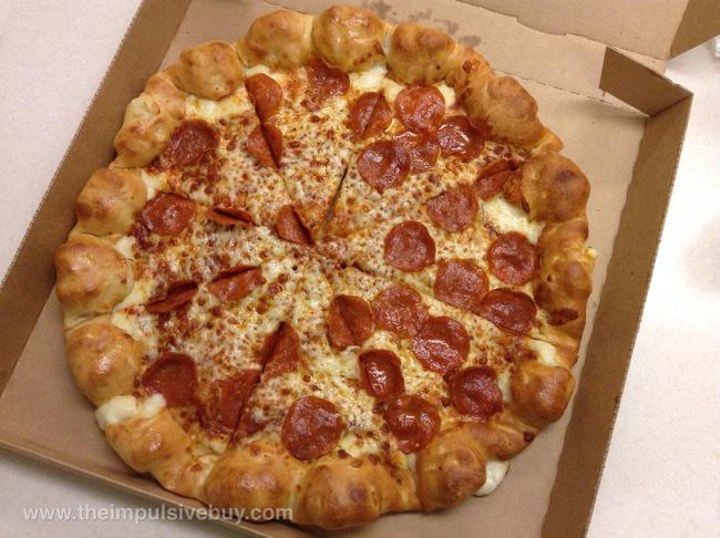 12. ...stuffed crust pizza...