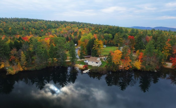1. We want to be at this quaint New Hampshire cottage.