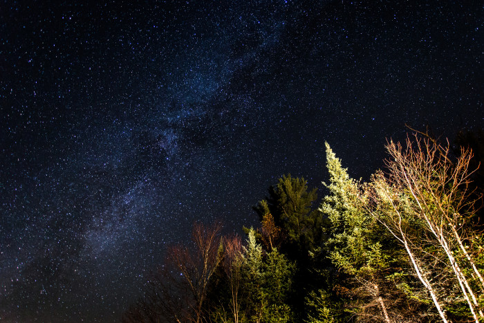 1. This shot of the Milky Way over New Hampshire is stunning.
