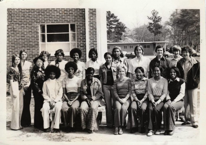 11. The Picayune Memorial High School French Club poses for a group photo in 1976.