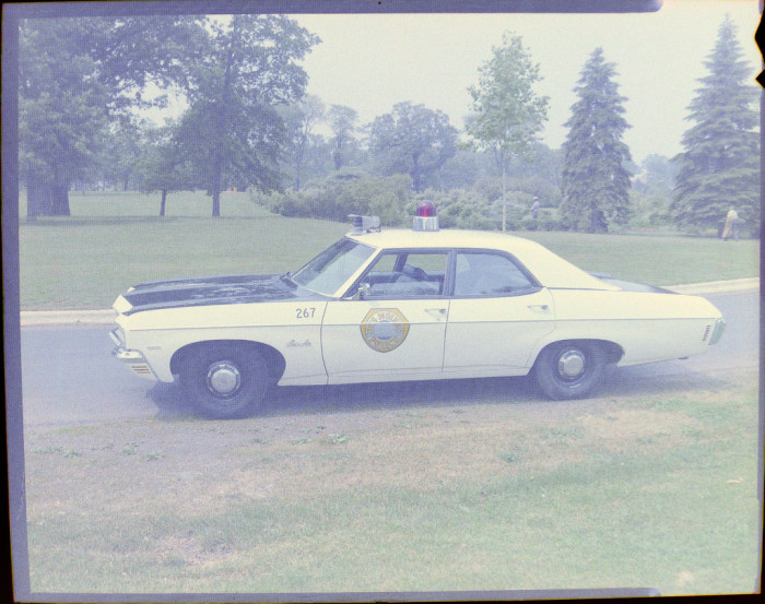 10. This is what patrol cars in Iowa looked like during the 1970s. Much different than today's vehicles.