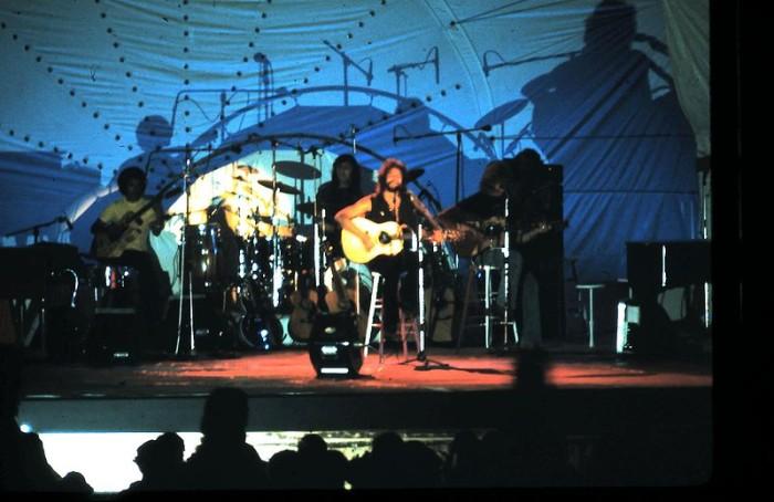 11. Cat Stevens performing in Waikiki, circa 1974.