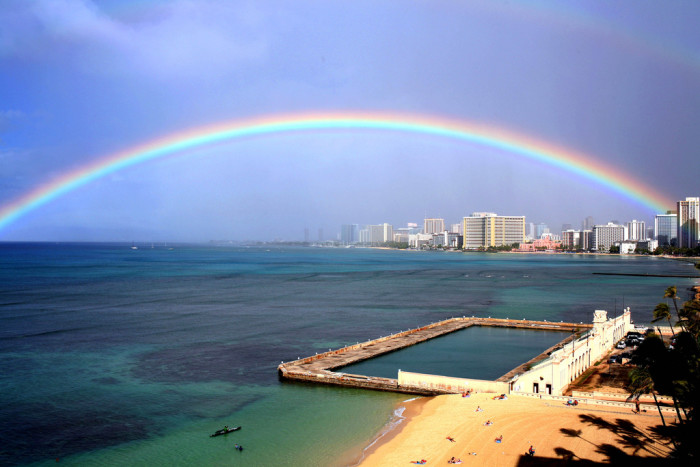 11. Rainbows are a near daily experience in Hawaii.